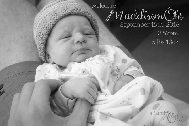 "Looks can be deceiving. ""As far as we knew, our baby was healthy, kicking lots, getting quite big by the size of my belly, and would be here when baby was ready. We had no idea something had gone wrong and we were about to enter the greatest endurance race of our lives."" Read Maddison's birth story here."